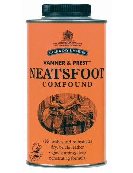 Læderolie, Neatsfoot, 500 ml.